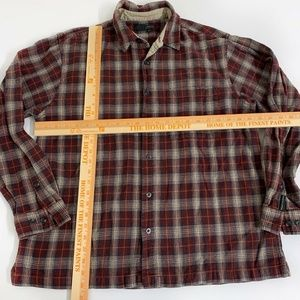 Royal Robbins Shirts - Royal Robbins Flannel Shirt Top Button Front Large